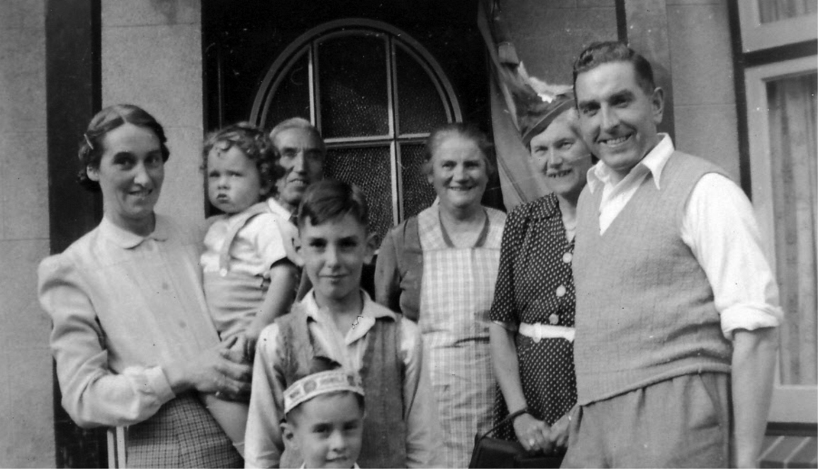 Family Group in July 1948